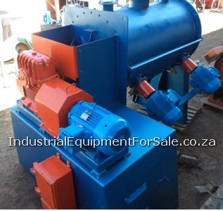 photo of Paddle Mixer has a 15 Kw flame proof motor
