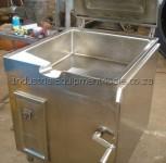 Photo: Tilting pot for sale lid open