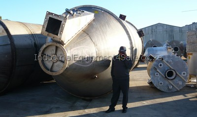 pre-owned stainless tank for sale