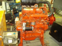 Diesel Engine with Centrifugal Pump