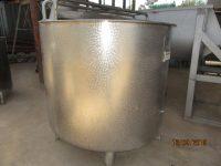 2500L Stainless Steel Tank – TK15